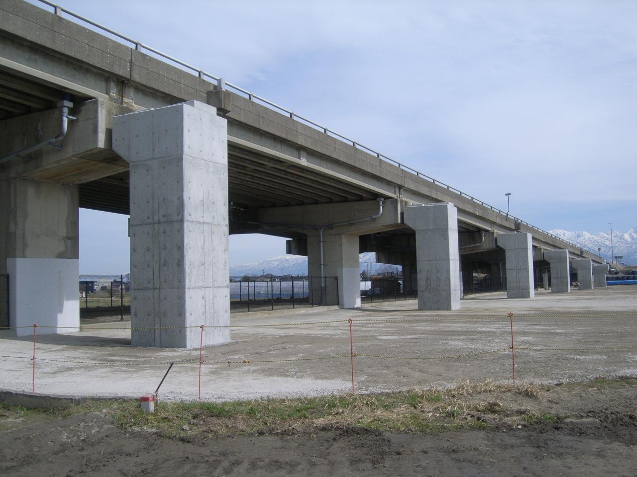 2017年 富山跨線橋拡幅その2工事