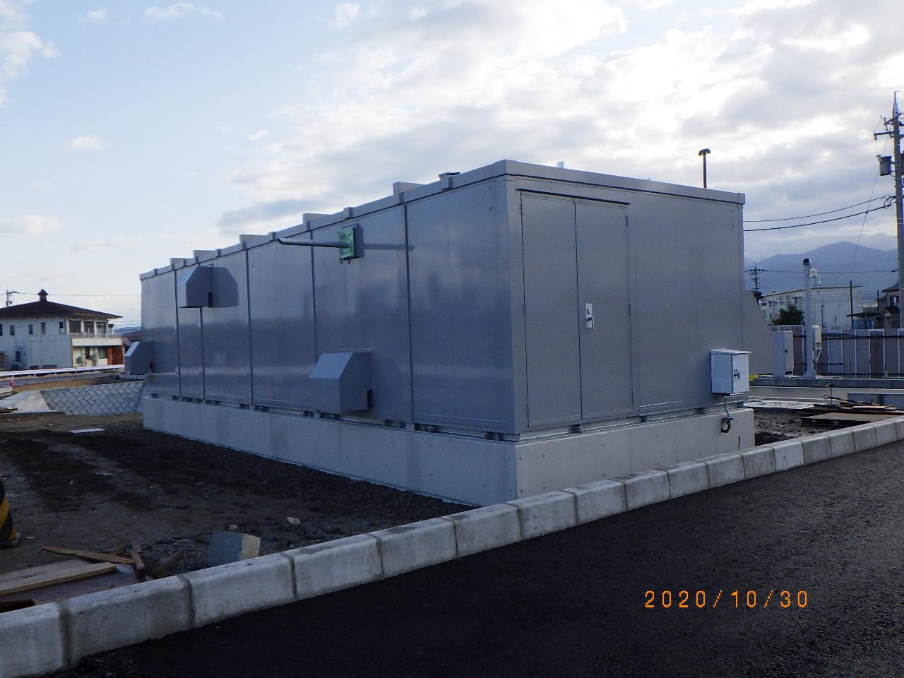 2020年 上市スマートIC機械室新築工事